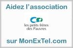 Soutenez l association les petits frères des Pauvres sur MonExTel.com