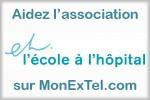 Soutenez l'association LEcole à lHôpital