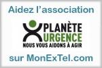 Soutenez l'association Planète Urgence