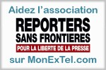 Soutenez l'association Reporters sans frontières